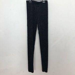 Pants - VANEE VINES embroidered mesh leggings size S